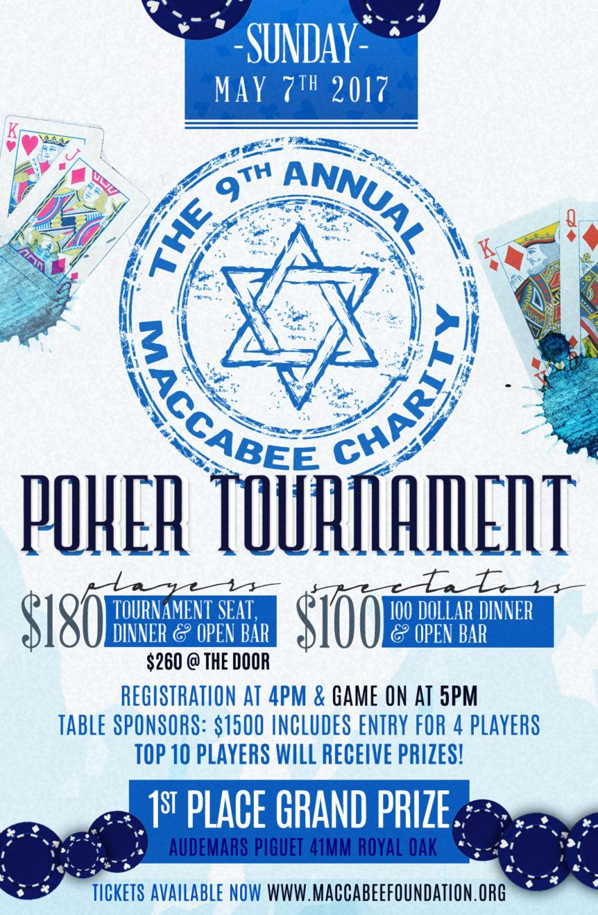 Maccabee Foundation Poker Tournament
